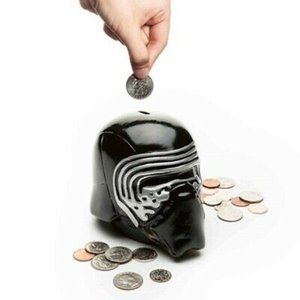 Star Wars Kylo Ren Ceramic Coin Bank